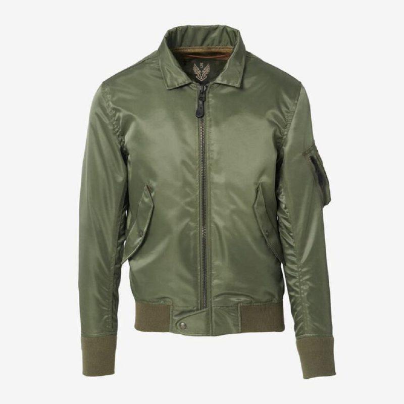 Douglas Olive Jacket