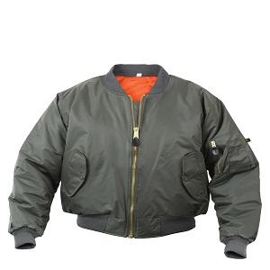 Rothco MA-1 Bomber Olive Green Jacket