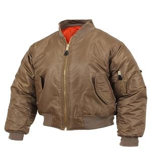 Rothco MA-1 Bomber Brown Jacket
