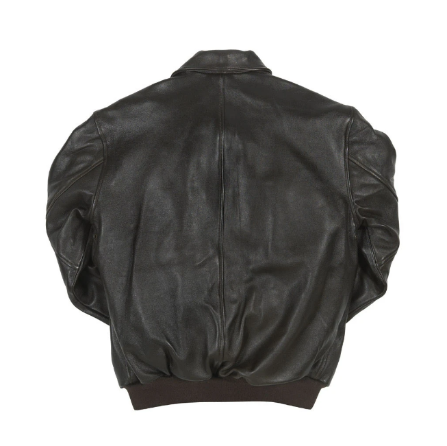 Antique Lamb Jacket in Black