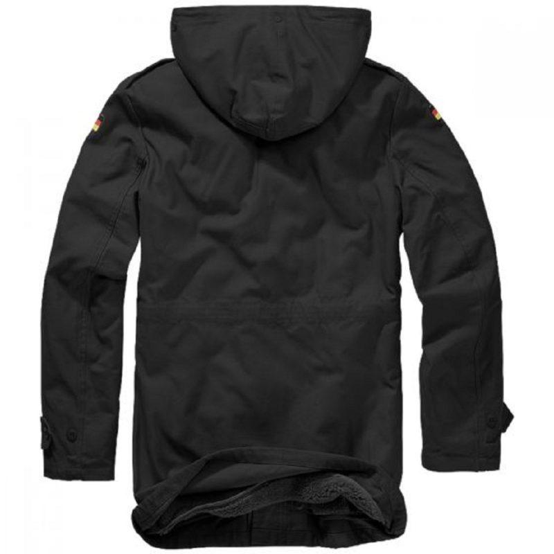 Branndit BW Black Parka jacket