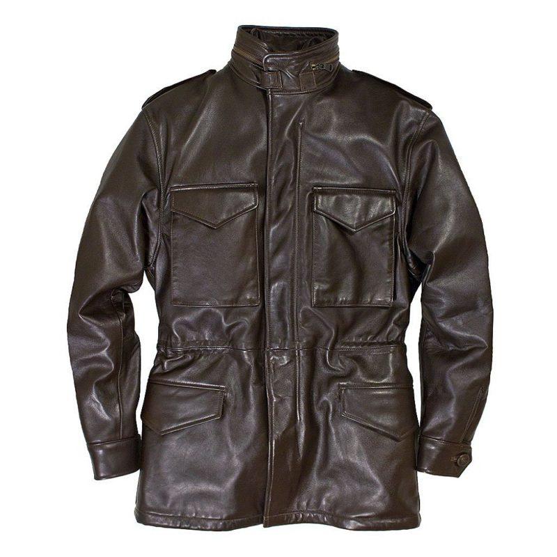 Leather M-65 Field Jacket Z21S024