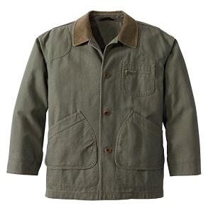 Men's Original Field Coat, Cotton-Lined in olive color