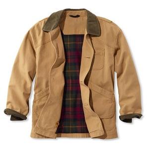 Men's Original Field Cotton Coat in saddle color