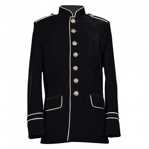Mens military parade jacket