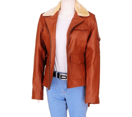 Amelia-Earhart-Night-At-The-Museum-2-Brown-Jacket-