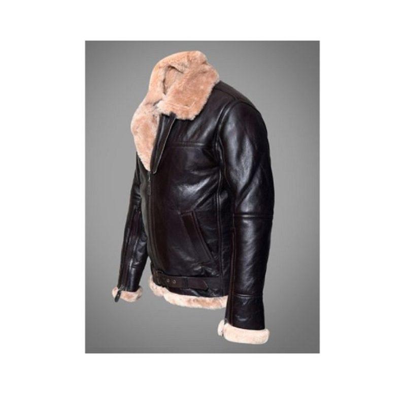 B3 Shearling Bomber aviator jacket