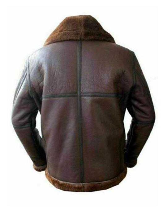 B3_Mens_Aviator_RAF_Bomber_Reddish_Sheepskin_Leather_Jacket