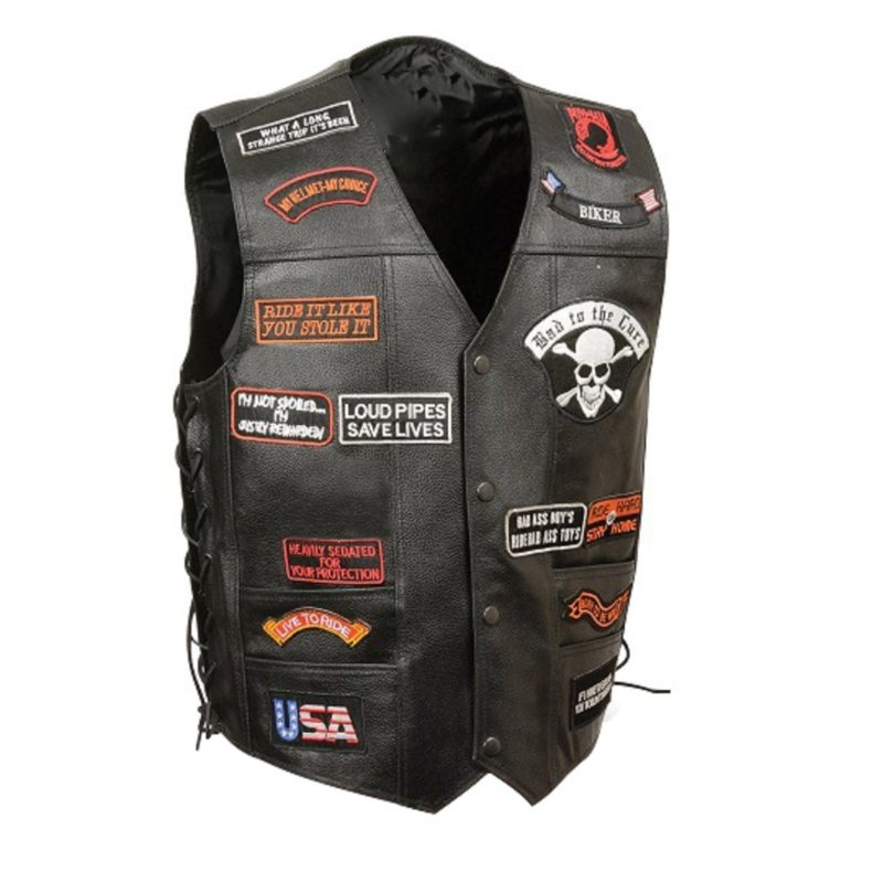 Black-Leather-Vest-with-eAGLE-AND-SKULL-Patche