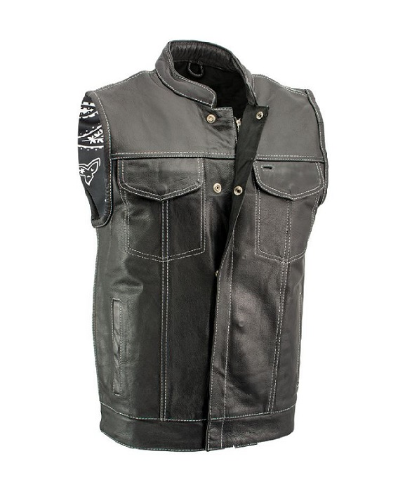 CONCEALED CARRY Leather VEST