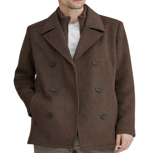 Classic_Brown_Men_s_Wool_Pea_Coat-removebg-preview