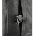 weapon hiding leather vest
