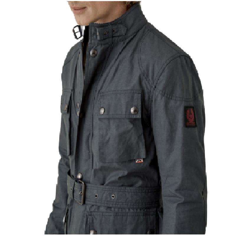 Field Coat in Navy Blue