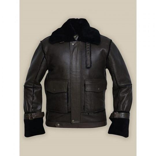 Men-Black-Bomber-Shearling-Jacket
