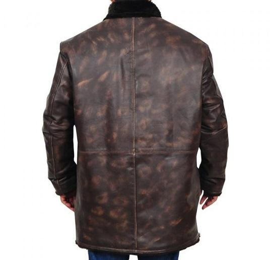 Men-Distressed-Brown-Fur-Collar-Jacket-