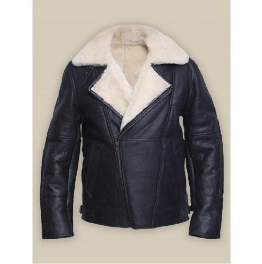 Men-White-Shearling-Leather-Jacket