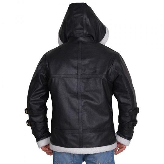 Shearling-Black-Leather -Jacket-