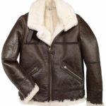 men-brown-b3-bomber-shearling-jacket