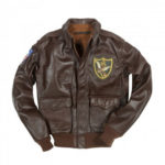 A-2-Mens-Classic-Fighter-Group-Bomber-Leather-Jacket