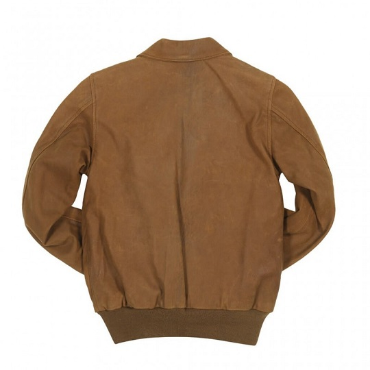 A-2 Womens Raider Brown Suede Leather Jacket-