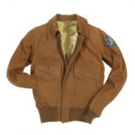 A-2-Womens-Raider-Brown-Suede-Leather-Jacket
