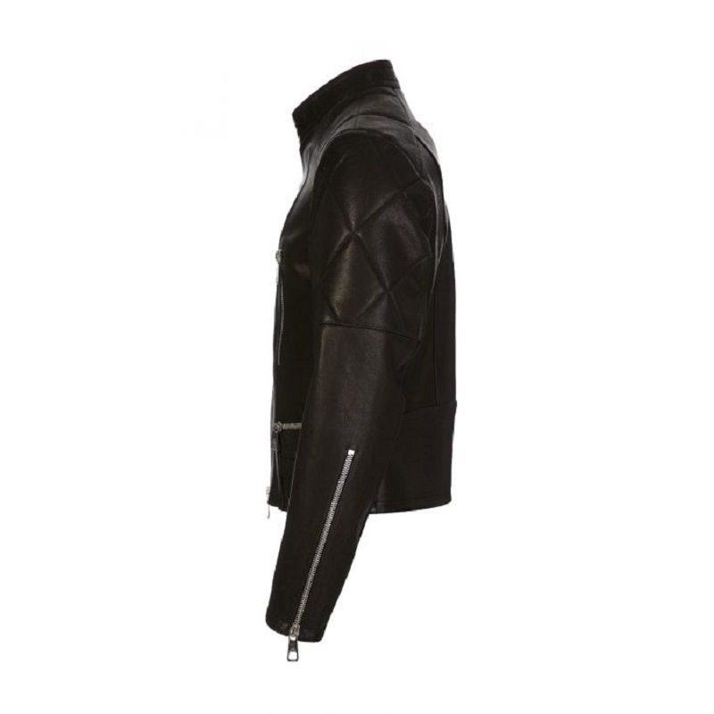 Black Leather Biker Jackets
