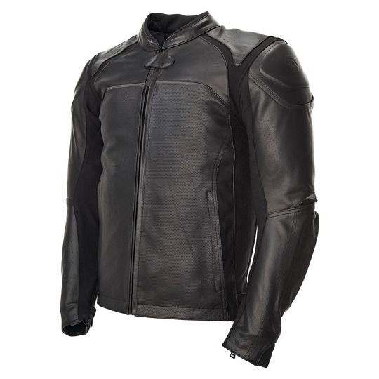 Jackson-Black-Leather-Motorcycle-Jacket