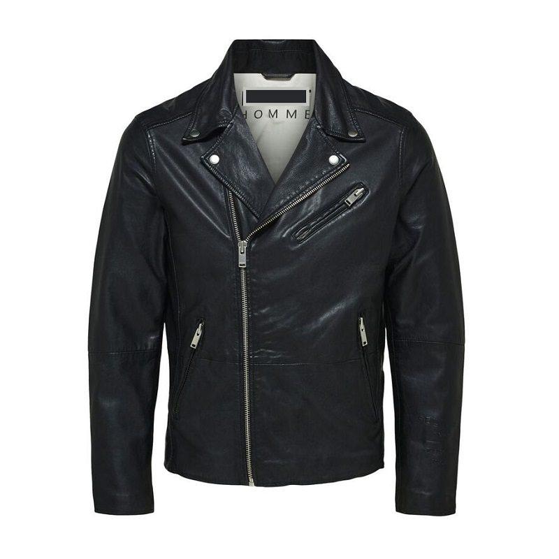 Lambskin Biker Leather Jacket