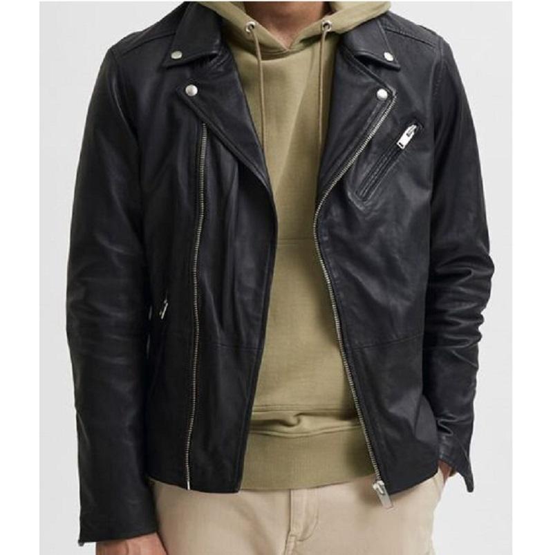 Lambskin Biker Leather Jackets-