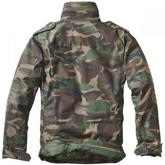M-65 Classic Dark Camo Green Field Jacket-