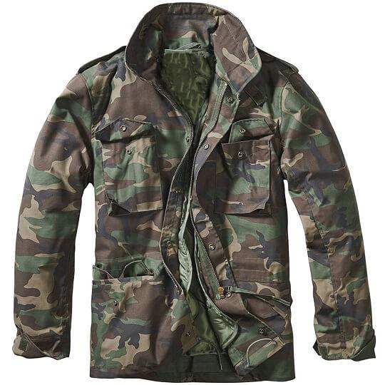 M-65 Classic Dark Camo Green Field Jacket