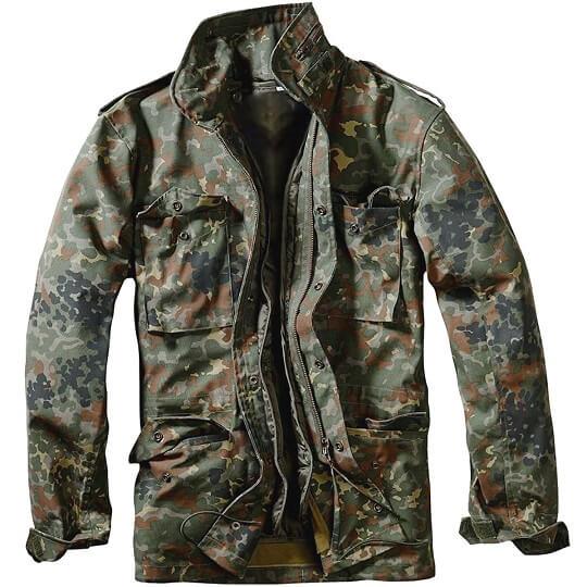 M-65 Classic Dark Green Camo Field Jacket