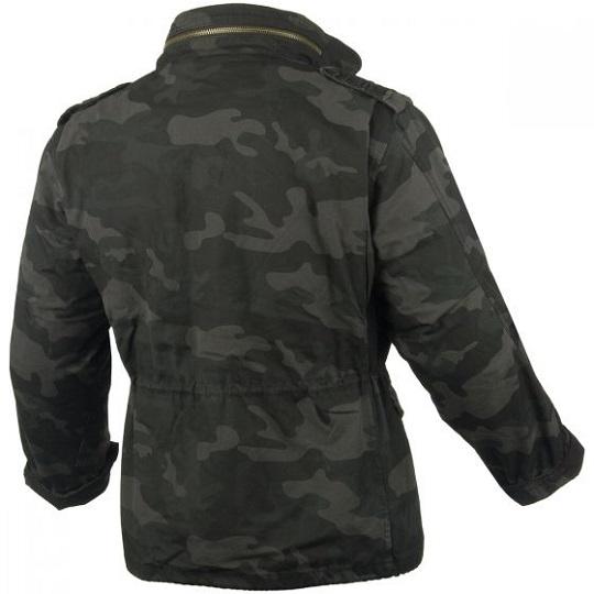 M-65 Classic Jet Black Camo Field jacket-