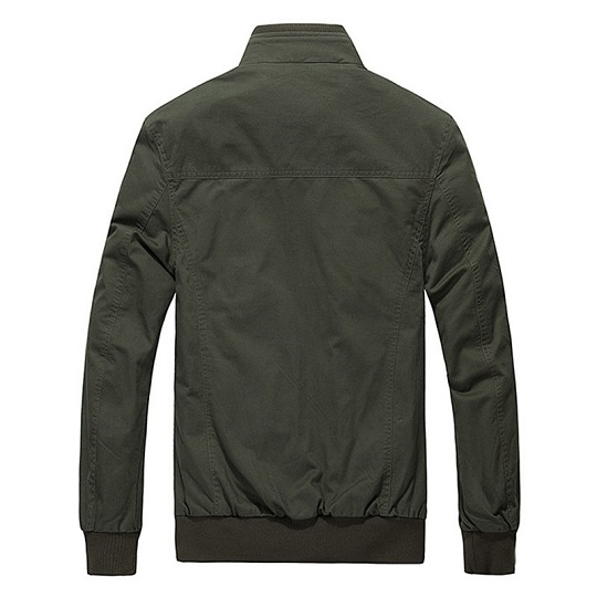 Men Casual Military Outdoor Green Field jacket-