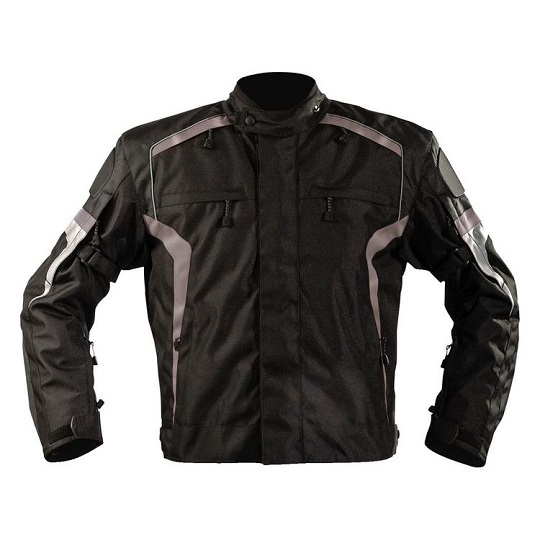 Men's-Bandido-Motorcycle-Textile-AshGrey-Jacket