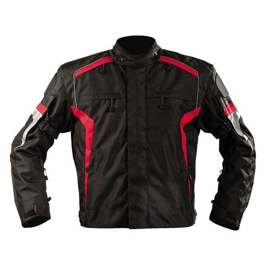 Men's-Bandido-Motorcycle-Textile-Red-Jacket