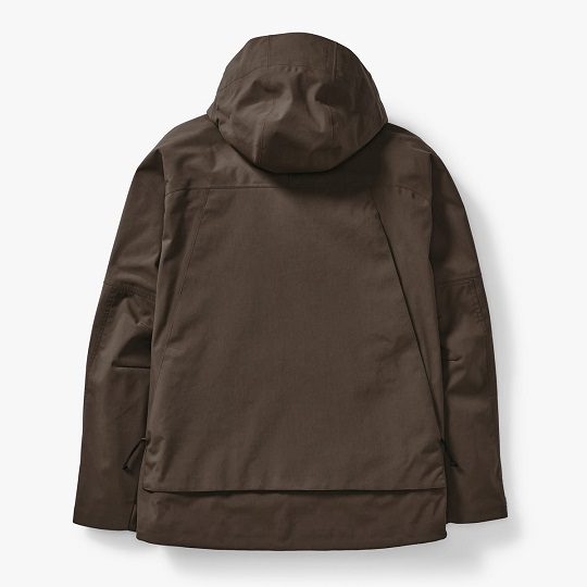 Mens Classic 3-Layer Sea Sand Hooded Field Jacket-