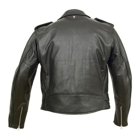 Men's-Classic-Black-Leather-Jacket
