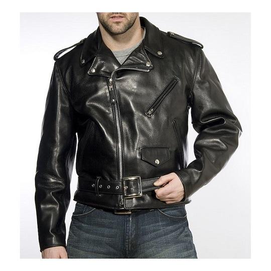 Men's-Classic-Black-Rider-Leather-Jacket