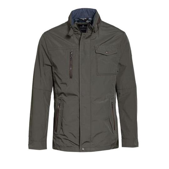 Mens Classic Cotton Ash Grey Field Jacket
