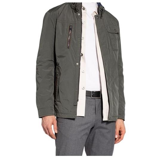 Mens Classic Cotton Ash Grey Field Jackets-