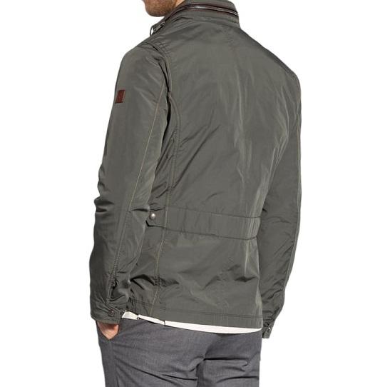Mens Classic Cotton Ash Grey Field Jackets