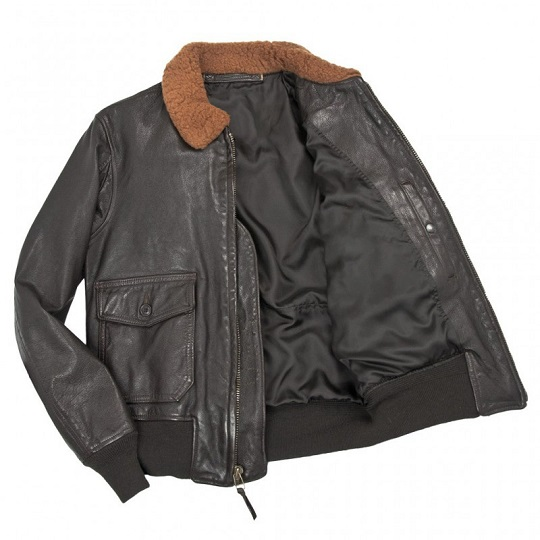 Mens-Classic-Naval-Aviator-Black-Leather-Jackets