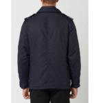 Mens Classic Navy Blue Militray Field Jacket