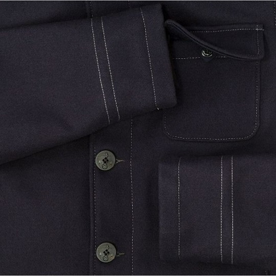 Mens Classic Navy Blue Quilt Lining Suede Leather Jackets-