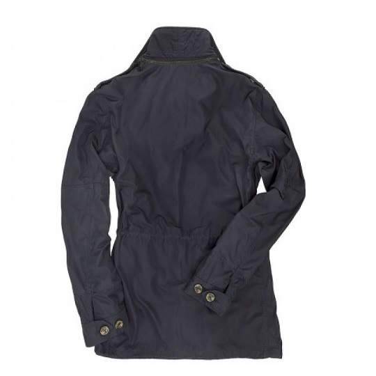 Mens Classic Navy SAS Field Blue Cotton Jacket-