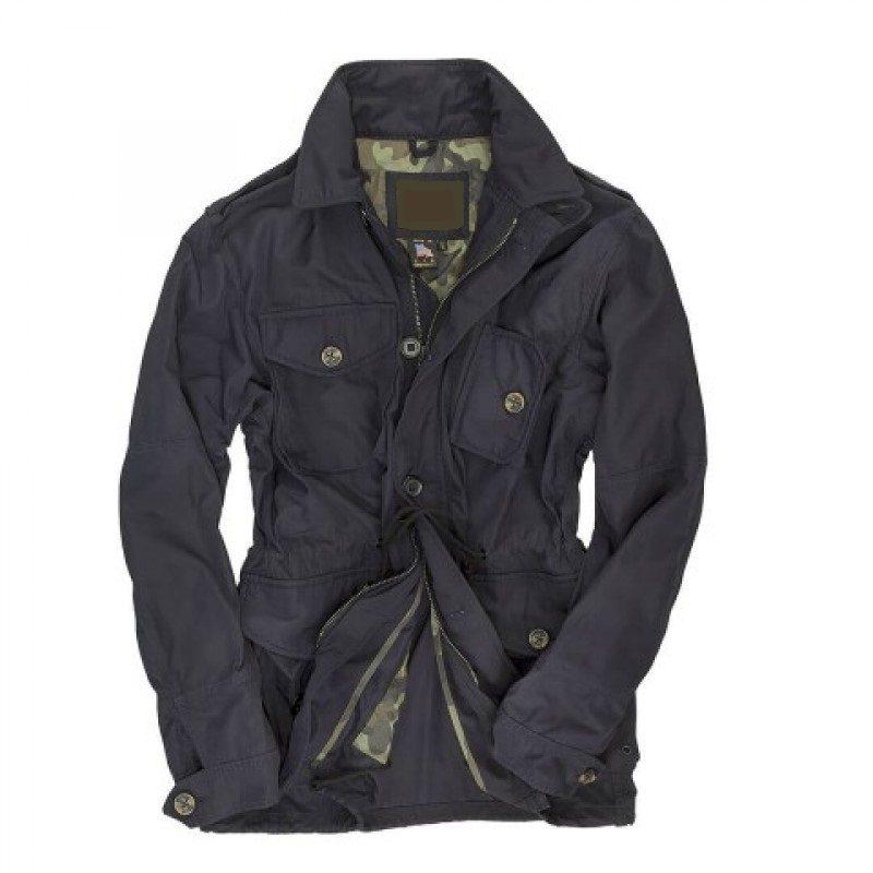 Mens-Classic-Navy-SAS-Field-Blue-Cotton-Jacket