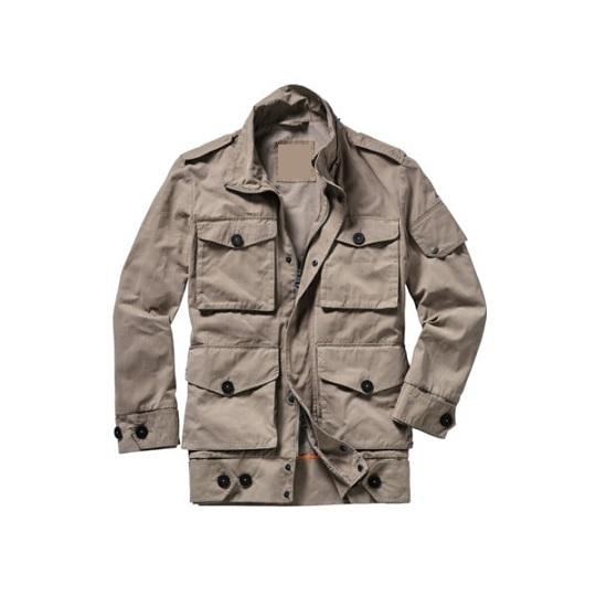 Mens Classic Sea Sand Draft Field Jacket