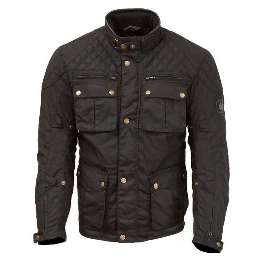 Men's-Edale-Motorcycle-Textile-Black-Jacket-