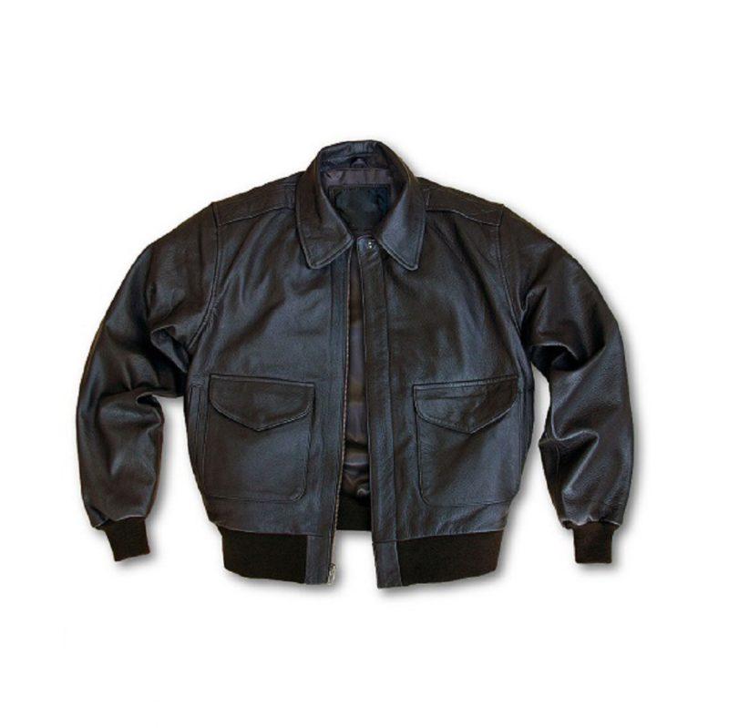 Mens-Flight-Modern-A-2-Leather-Jacket